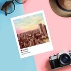 Почтовая карточка в стиле инстаграм «В ритме города», 8,8 х 10,7 см