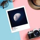 Почтовая карточка в стиле инстаграм «Другая сторона луны», 8,8 х 10,7 см