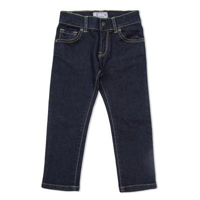 Брюки джинсовые д/д 4052 Т.с, рост  92 см, цвет тёмно-синий 4052_М