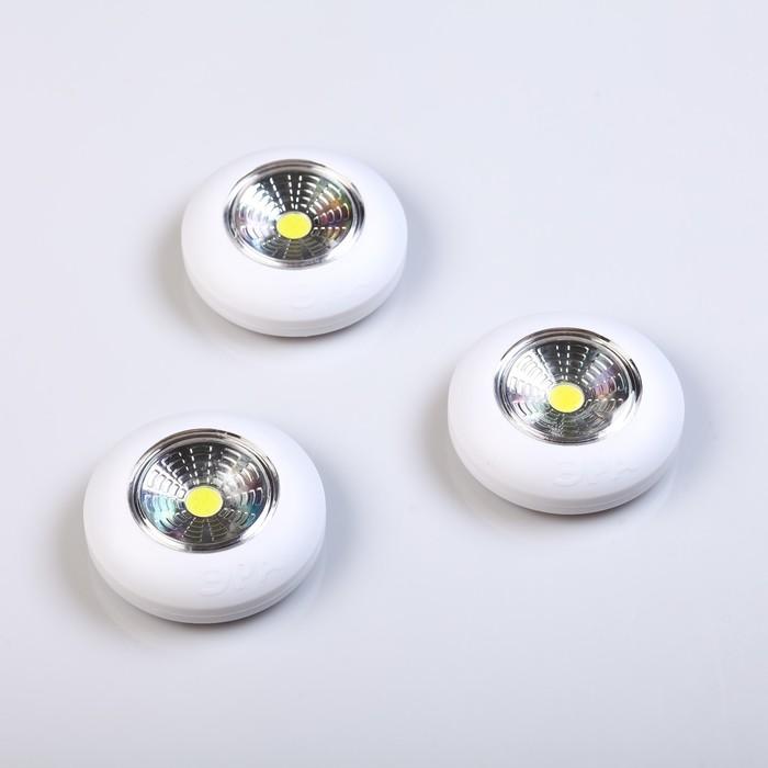"""Фонарь """"Эра""""  """"Аврора"""" SB-502, 1 светодиод, питание 3хААА, (набор 3 штуки в упаковке)"""