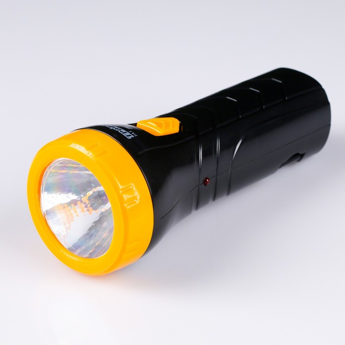 "Фонарь ""Трофи"" TA1, 1 светодиод, аккумулятор 4В 0.5А.ч"