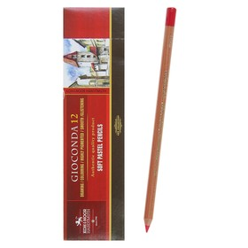 Пастель сухая в карандаше Koh-I-Noor GIOCONDA 8820/05 Soft Pastel, кармин
