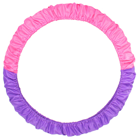 Чехол для обруча 60-90 см, цвет фиолетовый/розовый