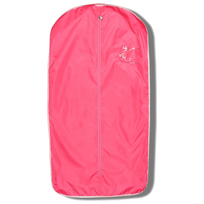 Чехол для одежды 100 × 50 см, цвет розовый