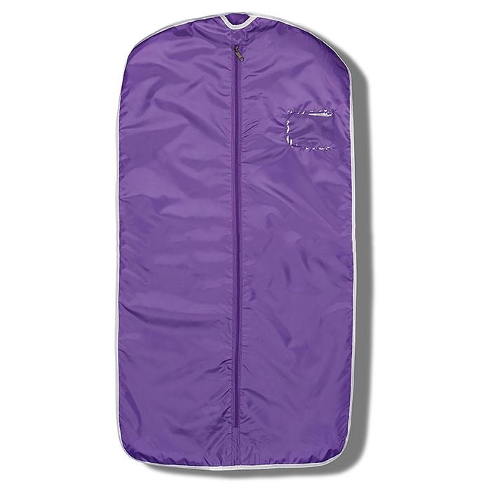 Чехол для одежды 100 × 50 см, цвет фиолетовый
