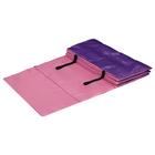 Коврик гимнастический взрослый 180*60см цвет Розово-Фиолетовый