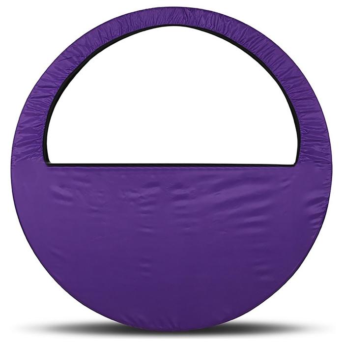 Чехол-сумка для обруча d=60-90см, цвет фиолетовый