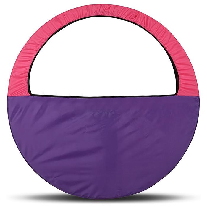 Чехол-сумка для обруча d=60-90см, цвет фиолетово-розовый