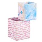 Набор складных коробок «Время мечтать», 2 шт 8 × 8 × 10 см, 10 × 10 × 12 см