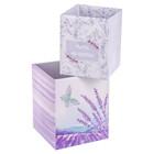 Набор складных коробок «Цени моменты», 2 шт 8 × 8 × 10 см, 10 × 10 × 12 см