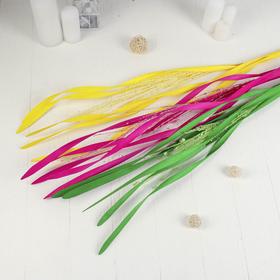 """Декор тинги """"Мелкие шарики с лентами"""" 150 см (фасовка 5 шт., цена за шт), микс - фото 1692747"""