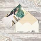 Конверт для денег, «С днём свадьбы», пара мечты, 16,5 х 8 см