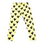 Легинсы для девочки, рост 98 см, цвет жёлтый/чёрный