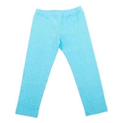 Легинсы для девочки, рост 98 см, цвет голубой