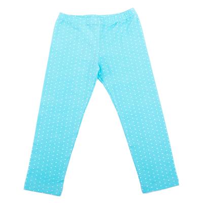 Легинсы для девочки, рост 134 см, цвет голубой