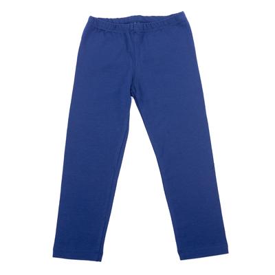 Легинсы для девочки, рост 128 см, цвет синий