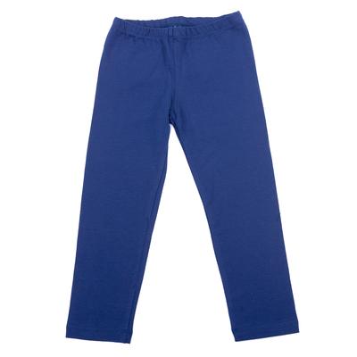 Легинсы для девочки, рост 104 см, цвет синий