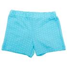 Шорты для девочки, рост 110 см, цвет голубой DS0038/11