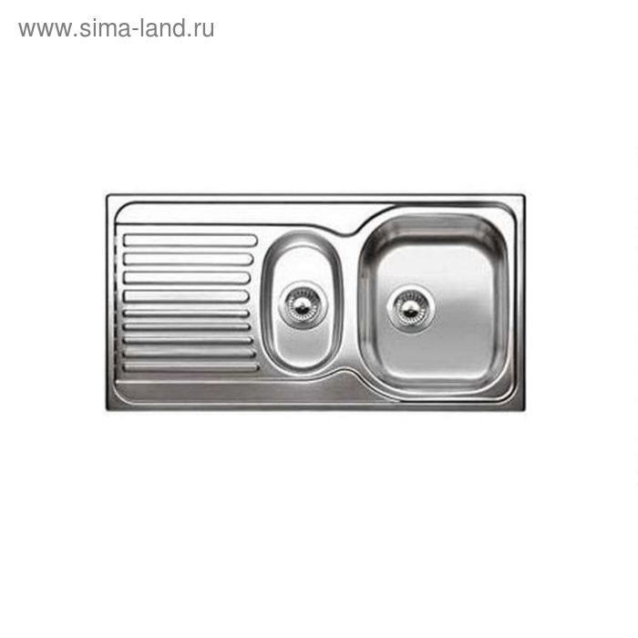 Мойка кухонная BLANCO TIPO 6 S Basic, нержавеющая сталь, матовая