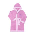Халат банный для девочки, рост 98 см, цвет розовый М0001/4