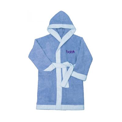 Халат банный для мальчика, рост 134 см, цвет голубой М0001/11