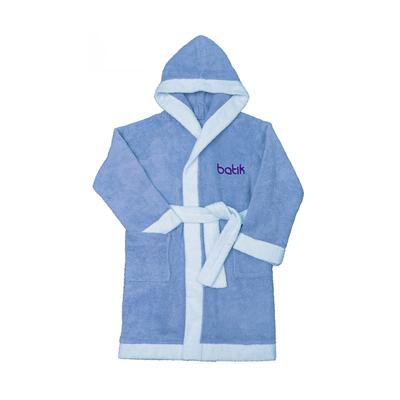 Халат банный для мальчика, рост 146 см, цвет голубой М0001/11