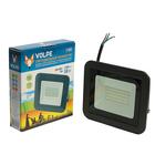 Прожектор светодиодный Volpe, свет (6500K), Корпус черный, 50 Вт, 230 В