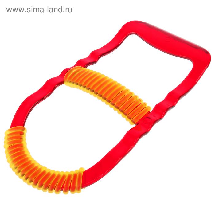 Эспандер для запястья Leco 6 кг прозрачный красный