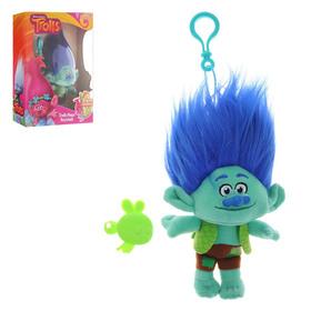 Мягкая игрушка-брелок 'Тролли' в наборе с расчёской и карабином, МИКС Ош