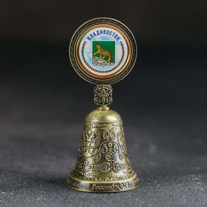 Колокольчик со вставкой «Владивосток» - фото 797964192
