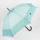 "Umbrella semi-automatic ""Curls"", 8 spokes, R = 52 cm, the color is ""mint"""