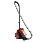 Пылесос LIRA LR 1006, 2200 Вт, мощность всасывания 350 Вт, 2.2 л, черно-оранжевый