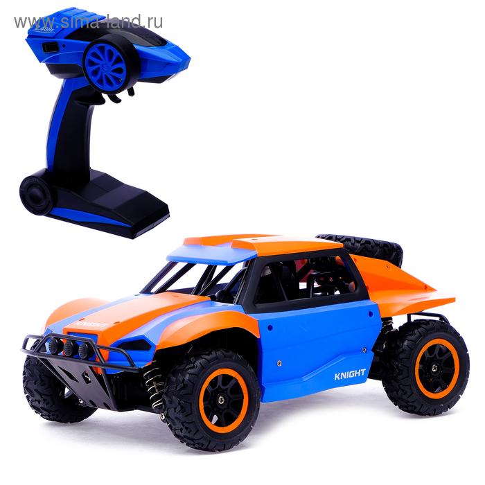"""Джип радиоуправляемый """"Воин"""", полный привод 4WD, работает от аккумулятора"""