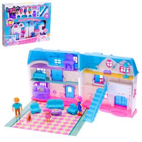 Дом «Мир кукол» с аксессуарами, световые и звуковые эффекты