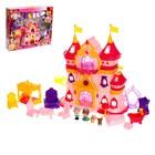 Замок для кукол «Шикарный дворец» с аксессуарами, световые и звуковые эффекты - фото 105511410