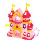 Замок для кукол «Шикарный дворец» с аксессуарами, световые и звуковые эффекты - фото 105511411