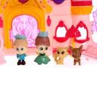 Замок для кукол «Шикарный дворец» с аксессуарами, световые и звуковые эффекты - фото 105511414