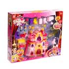 Замок для кукол «Шикарный дворец» с аксессуарами, световые и звуковые эффекты - фото 105511415