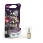 Галогенная лампа PHILIPS, P21/5W (BAY15d), 12 В, 3 Вт, , 2 шт., 12499 VP B2