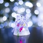 """Игрушка световая """"Колокольчик и Снеговик"""" (батарейки в комплекте) 1 LED, RGB 602894 УЦЕНКА"""