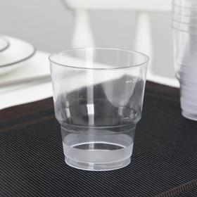 "Glass 200 ml ""Crystal"", color: transparent"