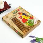 """Фотоальбом на 400 фото 10х15 см """"Башня. Цветы. Попугай"""" в коробке МИКС 44х27х5,5 см - фото 813966"""