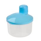 Контейнер пищевой для хранения детского питания, дозатор 3 секции, от 0 мес., цвета МИКС