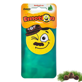"""Flavor paper in the car """"pine forest"""", Emoticon"""