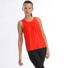 Майка женская (футболка) 021F34 цвет красный, р-р 42-44 (S)