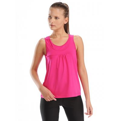 Майка женская (футболка) 021F34 цвет фуксия, р-р 50 (XL)