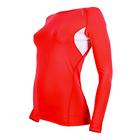 Рашгард женский 195F28 цвет красный, р-р 40-42 (XS)