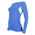 Рашгард женский 195F28 цвет светло-синий, р-р 46 (M)