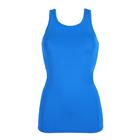 Майка женская (футболка) 195F30 цвет лазурный, р-р 48 (L)