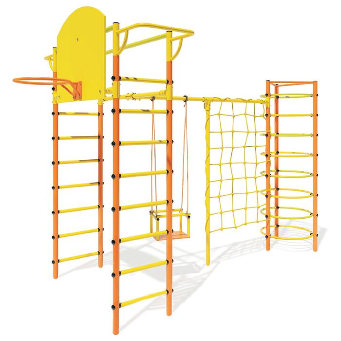 Детский спортивный комплекс Маугли 13, цвет оранжевый